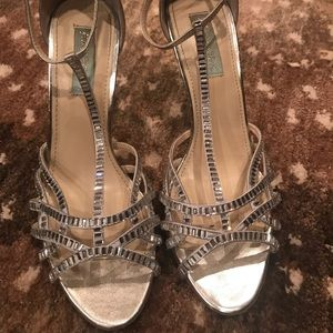 Betsy Johnson Rhinestone Pumps